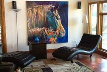 Art on the Wall / Contemporary Paintings by Shannon Ford