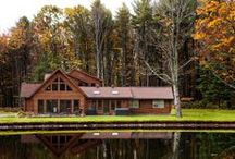 Husted - A Log Home Expansion / The Husteds came to Beaver Mountain to work with an existing home on a beautiful property, and turn it into the log home of their dreams.