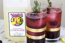 Happy Hour / Elegant, easy & fun mixed drink recipes. Made with Natalie's Fresh Juices, of coarse!