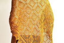 шали, шапочки / вязание