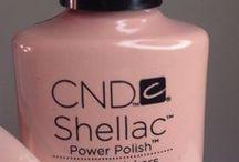 Nails CND-Shellac / Nagellak variaties met Shellac of Vinylux