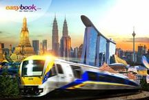 Easybook Train Tickets / Easybook.com provides train routes to all popular destinations in Singapore & Malaysia.  www.easybook.com/train  5% off all Train tickets!