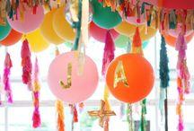 Decoración para fiestas / Aquí encontrarás inspiración para decorar tu fiesta.