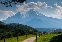 Berchtesgadener Land, Königsee, Hintersee, Chiemgau /  Berchtesgadener Land