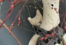 Minimarium handmade stuffed toys / Handmade stuffed toys by me