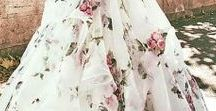 Stunning floral gowns