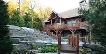 The Owls Club Cedar Log Home by Beaver Mountain Log Homes