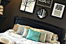 Cozy & Warm Rooms / Since boho rooms, great pools, colorful walls, painted doors, rooms to feel it like home