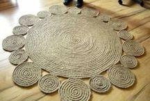 Rugs - Hand crafted / handmade rugs, jute rugs, natural rugs, area rugs, crochet rugs, braided rugs, rag rugs