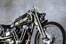 vintage bikes and bobbers