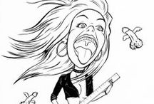 caricatures / the caricatures I did for posters degree... so much fun!!!