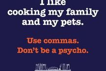 Writing Posters / Funny or inspirational writing/grammar related posters and memes! Purchase on Zazzle.com for your classrooms, office, or personal writing space!