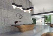 Lobby + Reception / by plusMOOD