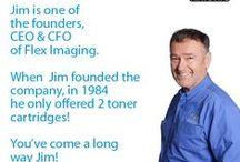 Meet Team Flex / Some of the Team Members at Flex Imaging...