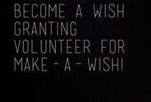 Volunteer-ISM / Wishes don't just happen on their own. Make-A-Wish® is only able to create life-changing wish experiences with help from dedicated staff, volunteers, donors and other supporters.