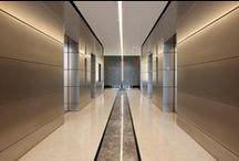 Lift lobby + Elevator idea / by plusMOOD