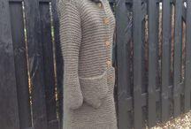 Long cardigans / Long knitted cardigans - some og them you can order at www.frustrik.dk