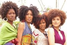 BIG Hair / Wash-n-go, big curls, Afros, fros, twist-outs, Bantu knots-out,