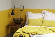 bedroom / where country side, scandinavia and recycle meets crafts