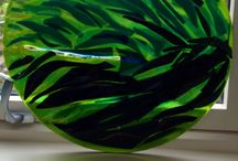 Paula Winkler  Glass Artist / Fused Glass Creation in Falmouth Cornwall