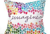 Cushion / Ethnic, mosaic, stripes..