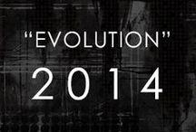 """COLLECTION 2014 """"EVOLUTION"""" / El Hexágono es una figura geométrica que está en la naturaleza, la arquitectura, el universo y en los trazos de MARIA ELENA VILLAMIL: """"los hexágonos están en todas partes… La simpleza radical de las formas geométricas son mi motivo artístico primario y la raíz de mi colección """"EVOLUTION."""""""
