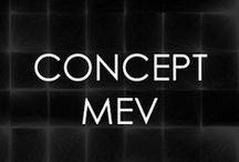 CONCEPT MEV / La simpleza radical de las formas geométricas es mi motivo artístico primario