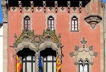 Art Deco, Art Nouveau & Modernisme Architectural Designs and Details / by Rose