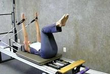 Pilates Machine / Some exercises special for the machine.