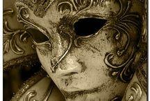 Masks / Colección de hermosas máscaras venecianas