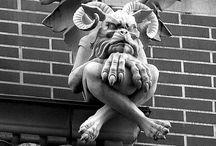 Gargoyles / Scary pics from different gargoyles around the world