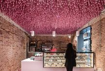 Ceilings / Original and beautiful ceilings in different kinds of business