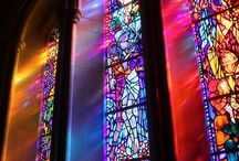 Stained Glass / Stunning work with stained glass