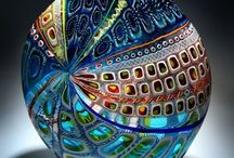 Glass Art / Lovely and fine works in glass