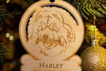 Animal Lover Ornaments / Ornaments are a great gift for the animal lover in your life! Make your pet a part of your family and include them in annual ornament traditions. Or memorialize a lost pet with an ornament for remembrance.