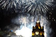 Hogmanay Edinburgh / There's no better place on earth to bring in the New Year than Edinburgh! What not feel like a local and stay in a special home from home apartment with Dickins. 0131 558 1108. www.dickins.co.uk