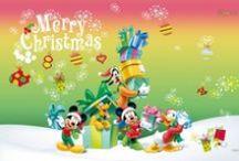 navidad Disney / diseños navideños y wallpaper