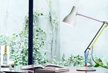 Paul Smith - Edition One - Anglepoise® / Anglepoise® + Paul Smith is a stunning interpretation of the classic Anglepoise® Type 75™ desk lamp combining the unmistakable form and function of an Anglepoise® with the unique handprint of Britain's foremost designer.