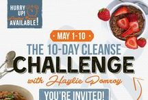 The 10 Day Cleanse Challenge / Detox the body and heal the metabolic pathways that affect all aspects of your health with guidance from Haylie in a private group community.  This cleanse is unique in the fact that you will eat incredible foods and nourish your body as you detox.