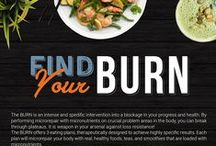 THE BURN / THE BURN is an intense and specific intervention into a blockage in your progress and health. By performing microrepair with micronutrients on crucial problem areas in the body, you can break through plateaus. It is a weapon in your arsenal against weight loss resistance!