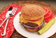 Build a Better Burger / Stack 'em high! Here are some of the most mouth-watering, food coma-inducing gluten-free burgers we could find!