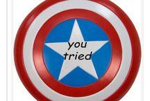 Super Heros / I also love dem marvel famage