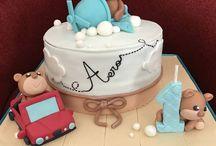 birthday cake / teddy bear cake, car cake , plane cake, 3d cake,