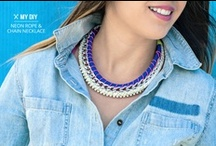Diy smykker-klær/ diy jewelry-clothing
