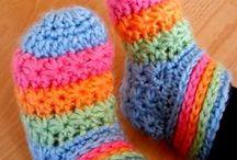Virkat & stickat / crochet & knitting