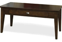 Solid Wood Occasional Tables / Our beautiful line of solid wood occasional tables, made in Canada and available in a variety of finishes.