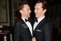 Oh Stop It You Two! / Benedict and Tom / by Laurie M