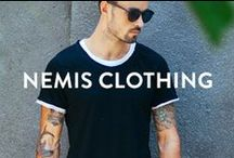 NEMIS CLOTHING / Urban streetwear for hip dudes Shop Nemis at www.pasar-pasar.com/collections/nemis