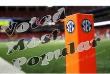 SEC Football Top Conference  / Everything that makes #SEC #Football the best in the #NCAA. ~ You'll also want to check this out ~ www.RollTideWarEagle.com ~ sports stories that inform and entertain, plus #collegefootball rules tutorial called Train Deck to learn the rules of the game you love.  #Alabamafootball #Alabama #RollTide #Auburnfootball #SEC