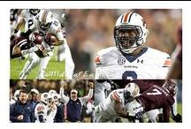 Auburn Football ~ Go Tigers! / Great photos of the best plays in Auburn football. War Eagle! Check this out ~ www.RollTideWarEagle.com ~ sports stories that inform and entertain, plus #collegefootball rules tutorial called Train Deck. Give Train Deck a try, it's a free, easy and fast way to learn the rules of the game you love. #CollegeFootball #Auburn #WarEagle #Auburnfootball